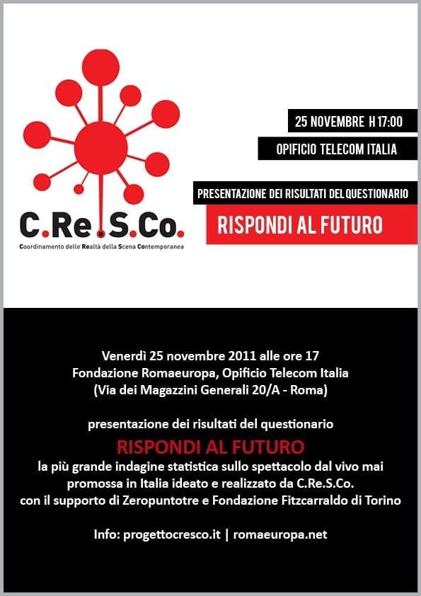 RISPONDI AL FUTURO con C.Re.S.Co