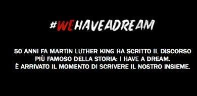 TELECOM ITALIA LANCIA IL PROGETTO DI SOCIAL WRITING #WEHAVEADREAM