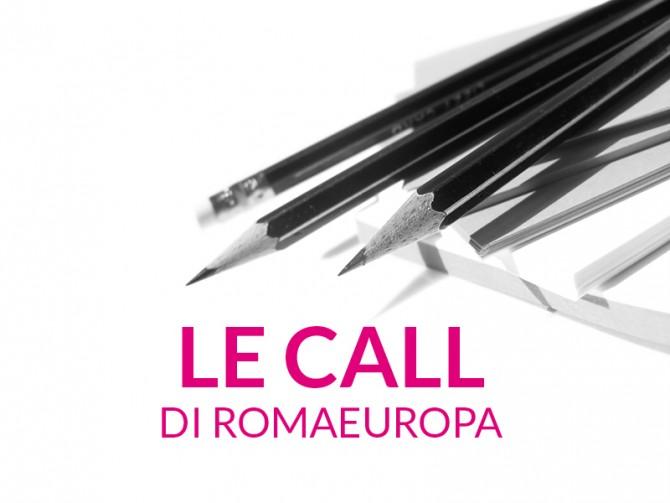 LE CALL DI ROMAEUROPA: PARTECIPA AL FESTIVAL 2014