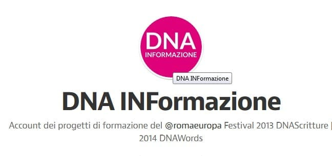 DNA WORDS: IN FORMAZIONE SBARCA SU MEDIUM