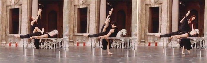 SYLVIE GUILLEM/LAURENT HILAIRE Afternoon of a Faun - Villa Medici 1992