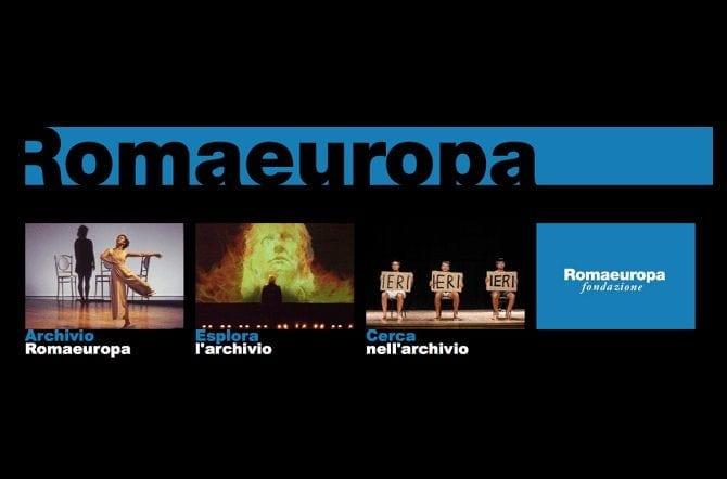 Il nuovo archivio <br>della Fondazione Romaeuropa