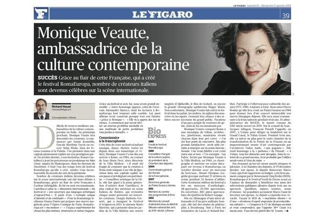 Monique Veaute, <br> ambassadrice de la culture contemporaine