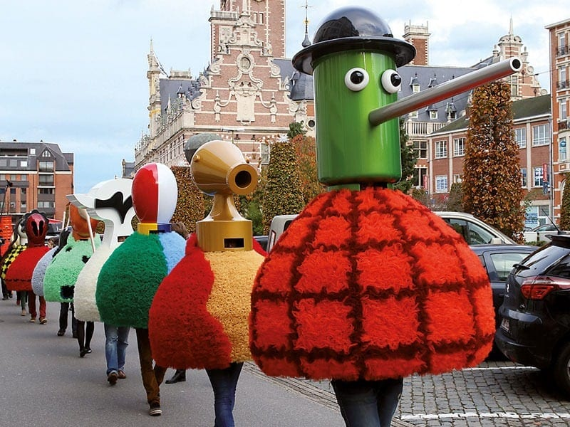 La parade moderne