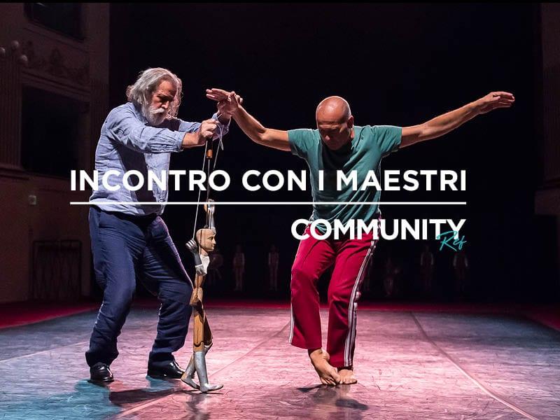 Community REf18: incontro con i Maestri