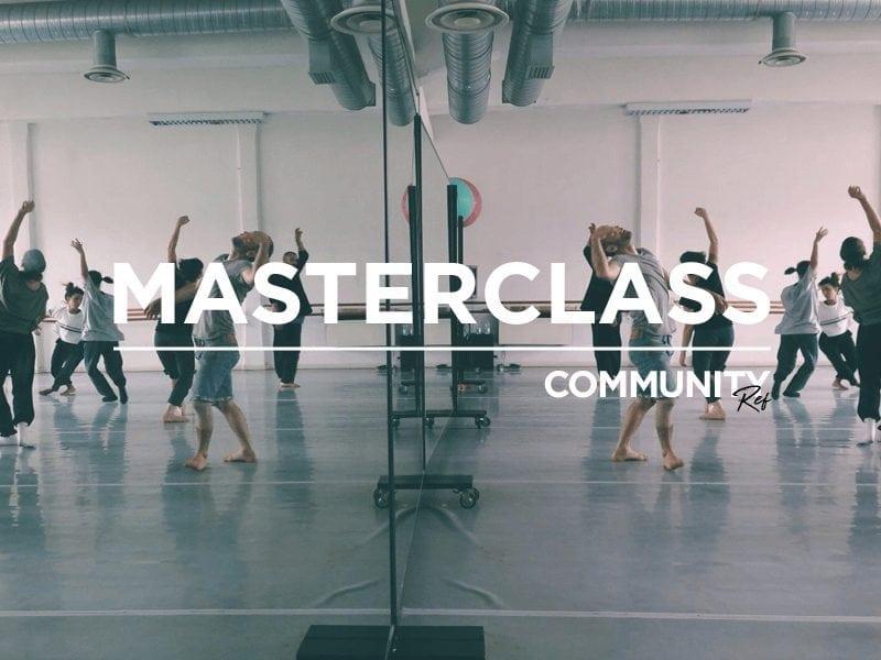 Community REf18: masterclass