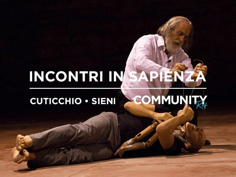 Community REf18: Incontri in Università – Cuticchio • Sieni