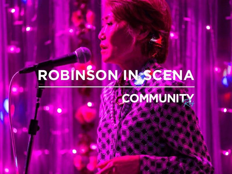 Community REf18: Robinson in scena