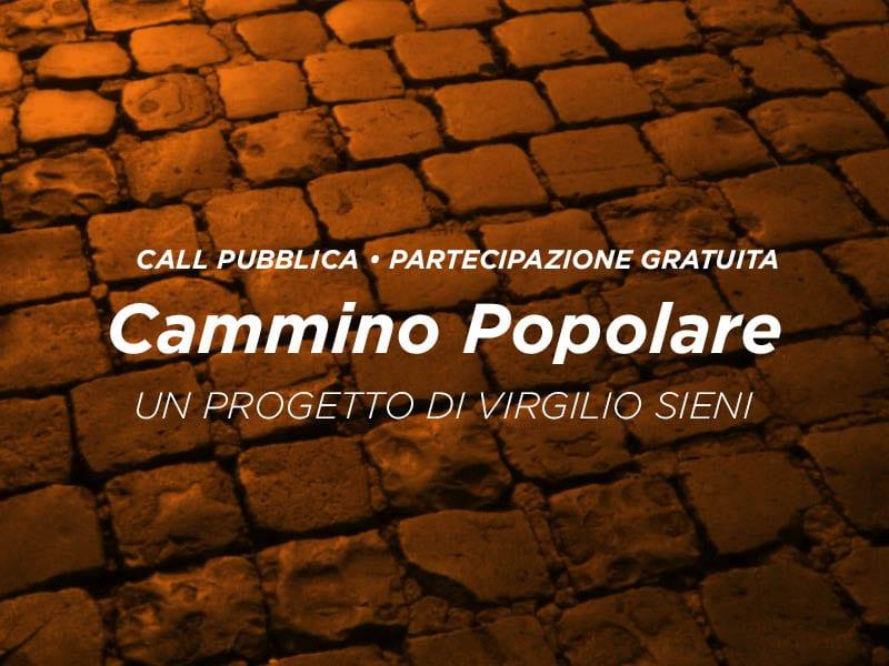 CALL: CAMMINO POPOLARE